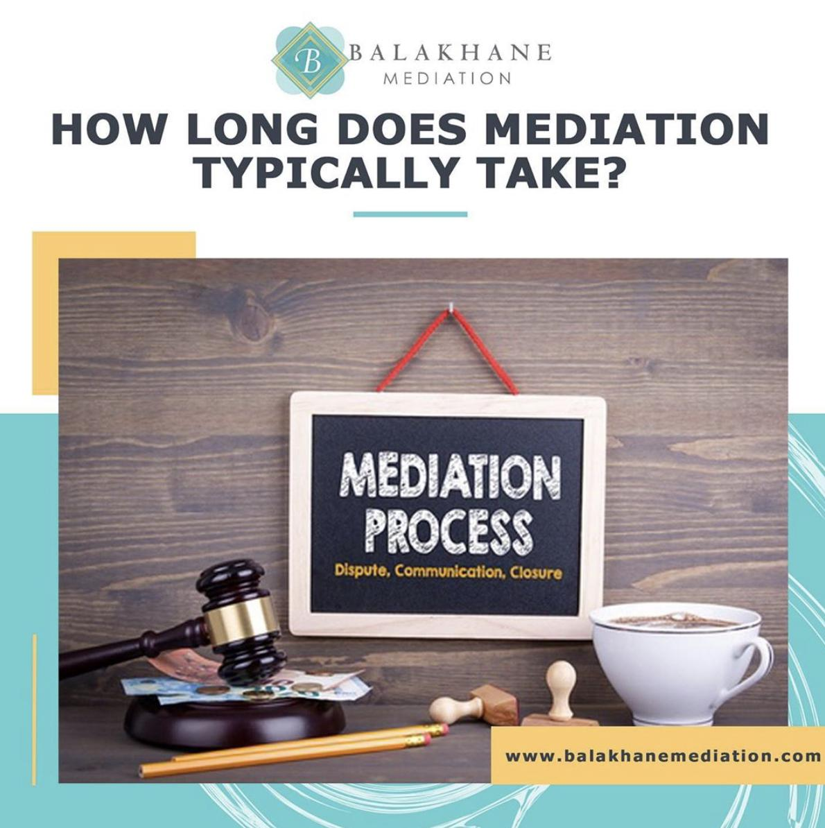 how long does mediation take